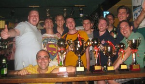 FCFC collecting trophies in 2012